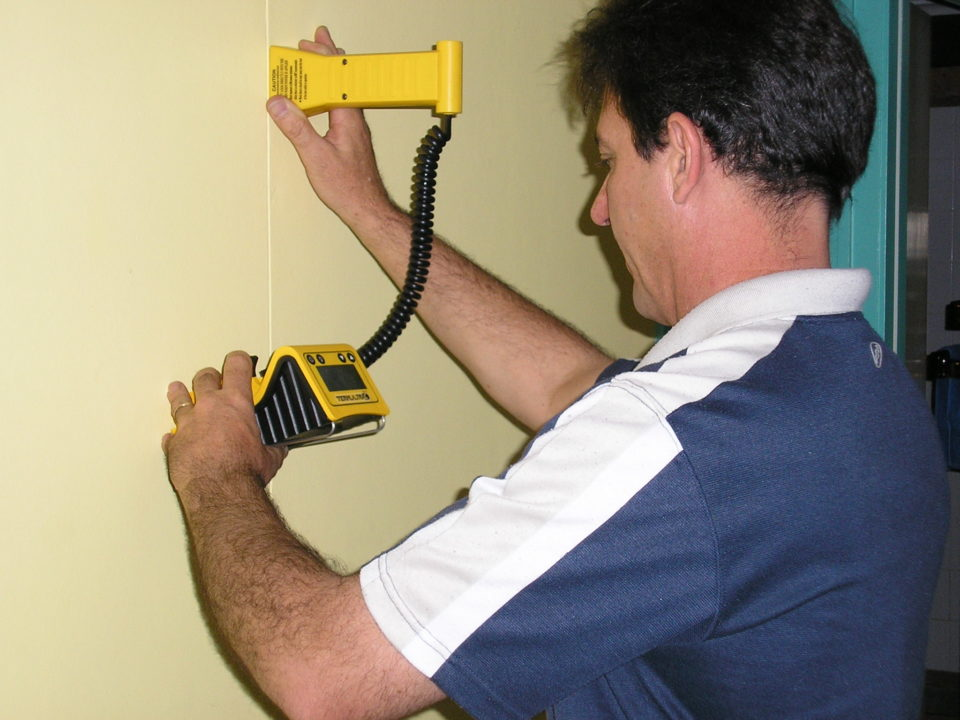 Termatrac motion sensor used for termite inspections
